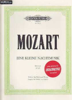Eine Kleine Nachtmusik, Kv 525 MOZART Partition Violon - laflutedepan