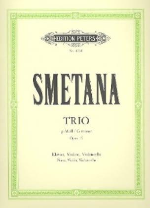 Klaviertrio g-moll op. 15 - SMETANA - Partition - laflutedepan.com