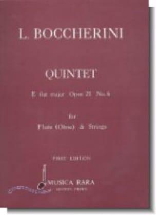 Quintet E flat major op. 21 n° 6 Parts - Flute oboe strings - laflutedepan.com
