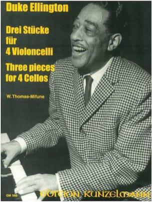 3 Pieces for 4 Cellos Duke Ellington Partition laflutedepan