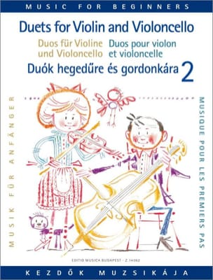 Duets for Violin and Cello Volume 2 laflutedepan