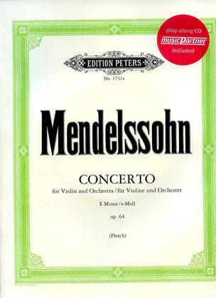 Concerto Violon op. 64 en mi mineur MENDELSSOHN laflutedepan