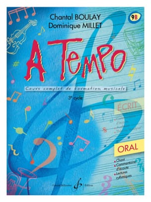 A Tempo Volume 9B - Oral BOULAY - MILLET Partition laflutedepan