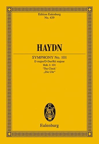 Sinfonie Nr. 101 B-Dur L' Horloge - Conducteur - laflutedepan.com