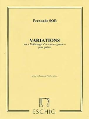 Introduction et Variations Sur Malbrough Op. 28 - laflutedepan.com