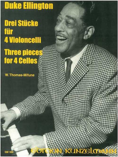 3 Pieces for 4 Cellos - Duke Ellington - Partition - laflutedepan.com