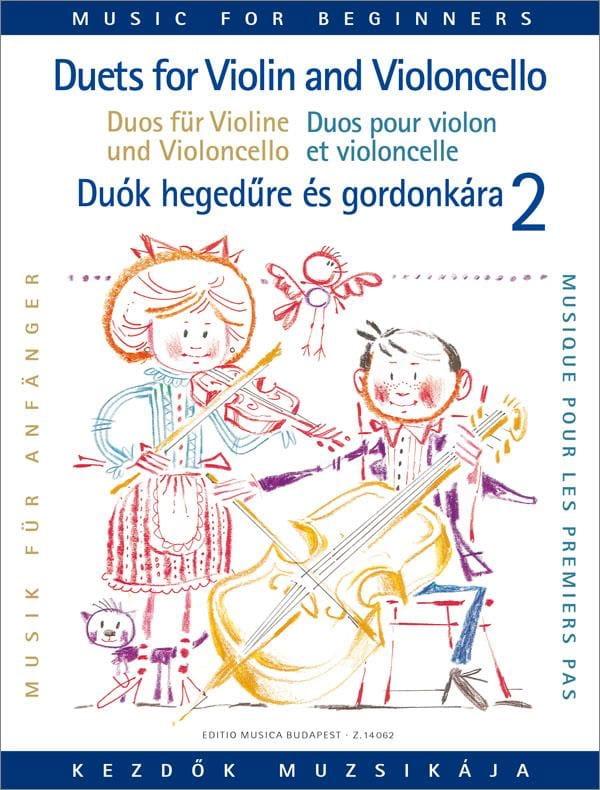 Duets for Violin and Cello Volume 2 - laflutedepan.com