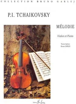Mélodie Piotr Illitch Tschaïkovsky Partition Violon - laflutedepan