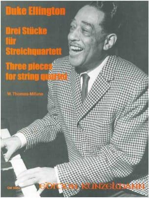 3 Pieces for String Quartet -Score + Parts laflutedepan