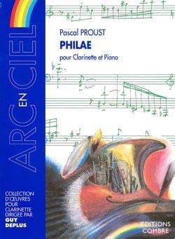 Philae Pascal Proust Partition Clarinette - laflutedepan