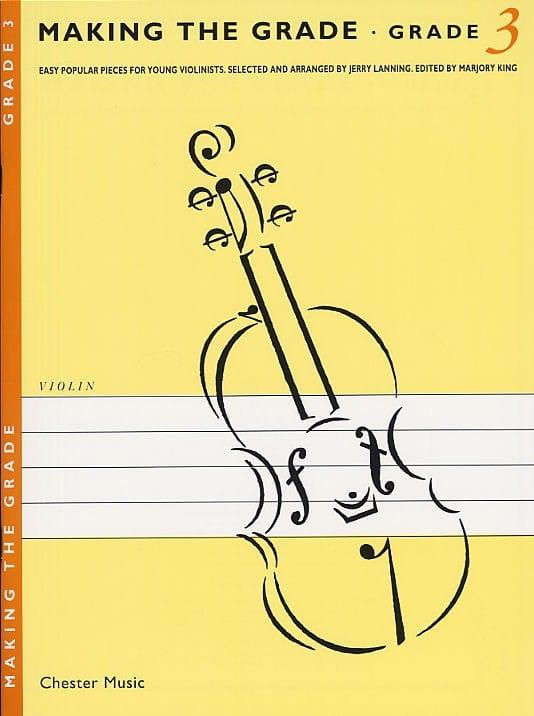 Making The Grade Violin - Grade 3 - Partition - laflutedepan.com