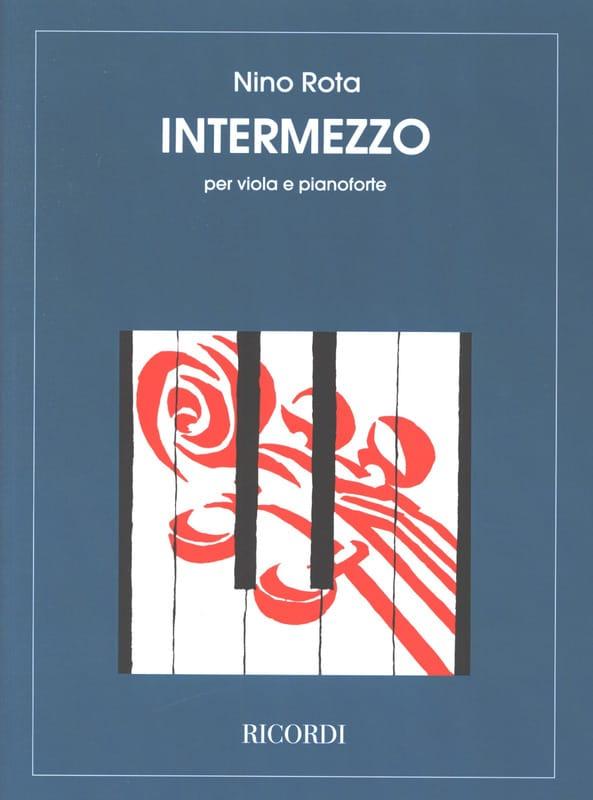 Intermezzo - ROTA - Partition - Alto - laflutedepan.com