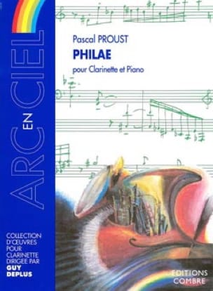 Philae - Pascal Proust - Partition - Clarinette - laflutedepan.com