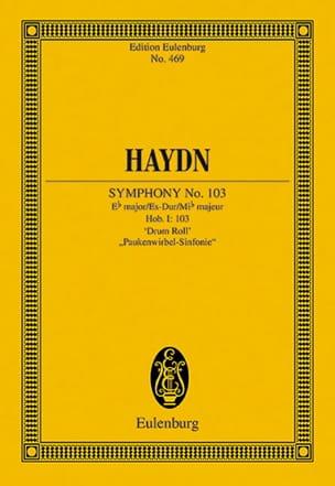 Sinfonie N° 103 Es-Dur Roulements De Timbales HAYDN laflutedepan