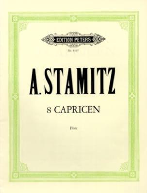 8 Capricen - Flöte STAMITZ Partition Flûte traversière - laflutedepan