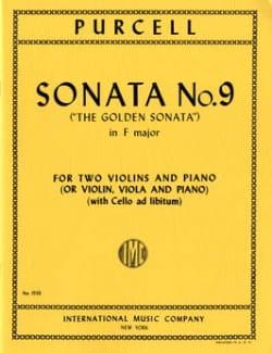 Sonata No. 9 F major -2 Violins piano PURCELL Partition laflutedepan