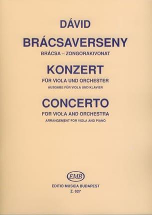 Concerto pour Alto Gyula David Partition Alto - laflutedepan
