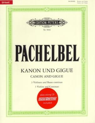 Kanon und Gigue PACHELBEL Partition Violon - laflutedepan