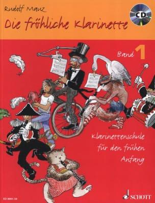Die fröhliche Klarinette - Bd. 1 mit CD Rudolf Mauz laflutedepan