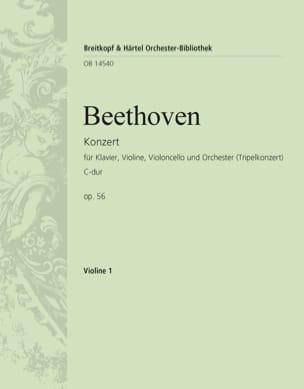 Konzert C-Dur op. 56 Triple-Konzert - violon 1 BEETHOVEN laflutedepan