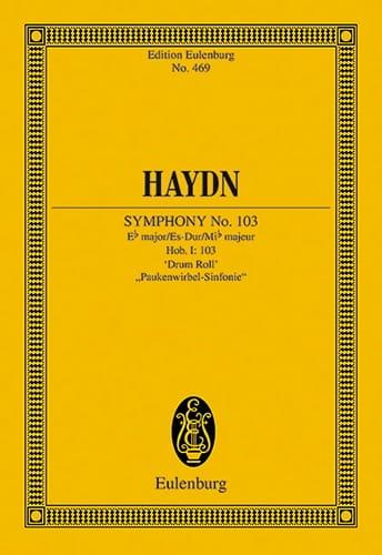 Sinfonie N° 103 Es-Dur Roulements De Timbales - laflutedepan.com