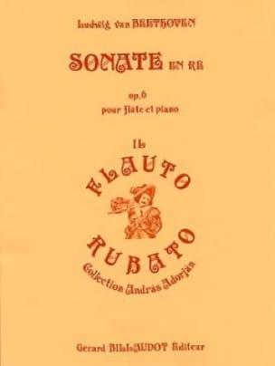 Sonate en ré majeur op. 6 - Flûte et piano - laflutedepan.com