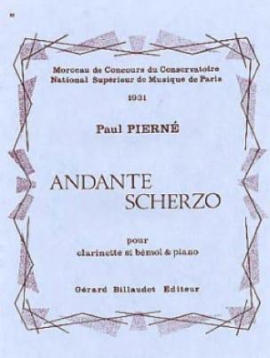 Andante Scherzo - Paul Pierné - Partition - laflutedepan.com