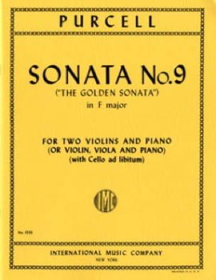 Sonata No. 9 F major -2 Violins piano - PURCELL - laflutedepan.com