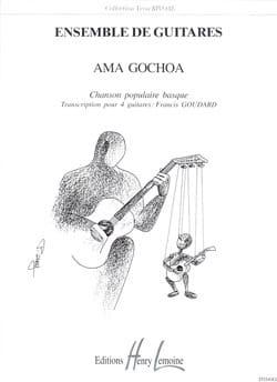 Ama Gochoa   Traditionnel Partition Guitare - laflutedepan