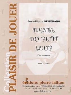 Danse du Petit Loup Jean-Pierre Semeraro Partition laflutedepan