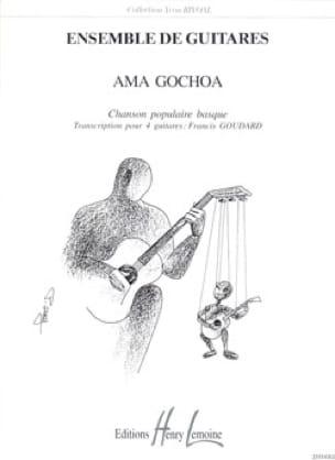 Ama Gochoa   - Traditionnel - Partition - laflutedepan.com