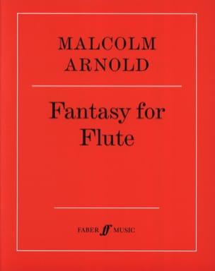 Fantasy For Flute Op. 89 Malcolm Arnold Partition laflutedepan