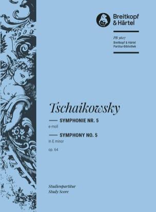Symphonie Nr. 5 e-moll op. 64 - Partitur TCHAIKOVSKY laflutedepan