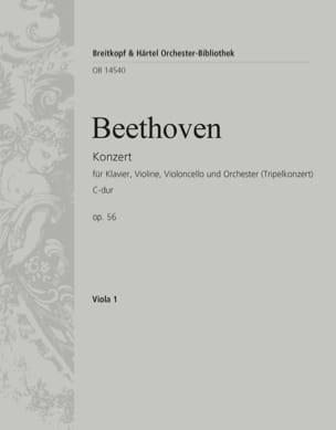 Konzert C-Dur op. 56 Triple-Konzert - alto BEETHOVEN laflutedepan