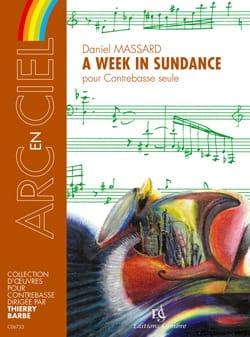 A Week In Sundance Daniel Massard Partition Contrebasse - laflutedepan