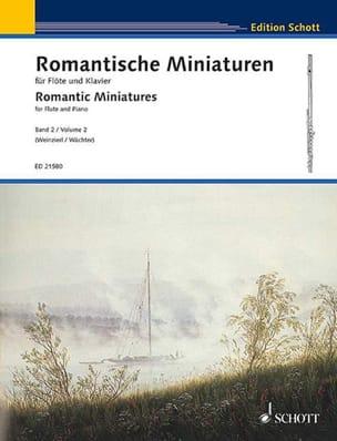 Miniatures Romantiques, Volume 2 Partition laflutedepan