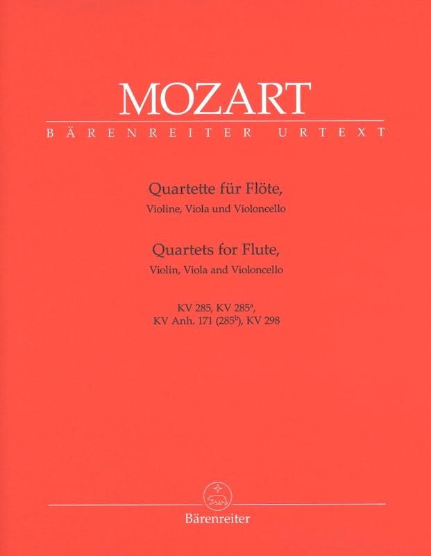Quatuors pour flûte -Parties instrumentales - laflutedepan.com