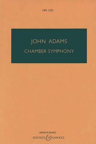 Chamber Symphony - Conducteur - John Adams - laflutedepan.com