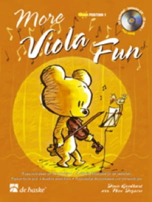 More Viola Fun - Goedhart / Dezaire - Partition - laflutedepan.com