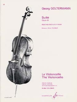 Suite op. 49 Georg Goltermann Partition Violoncelle - laflutedepan