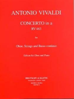 Concerto in A minor RV 463 F. 7 n° 13 -Oboe piano laflutedepan
