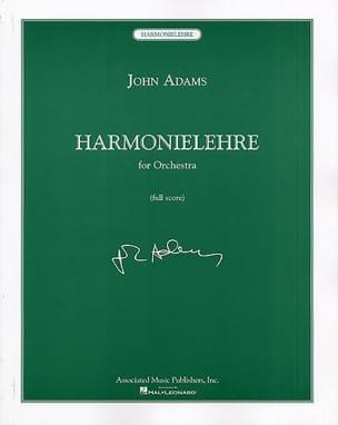 Harmonielehre John Adams Partition Grand format - laflutedepan