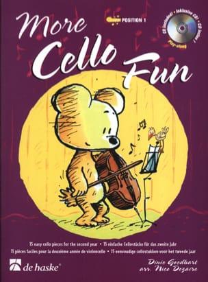 More Cello Fun Goedhart / Dezaire Partition laflutedepan