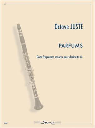Parfums Octave Juste Partition Clarinette - laflutedepan