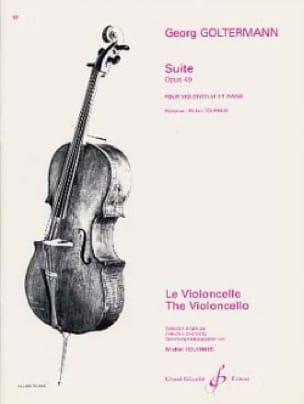 Suite op. 49 - Georg Goltermann - Partition - laflutedepan.com