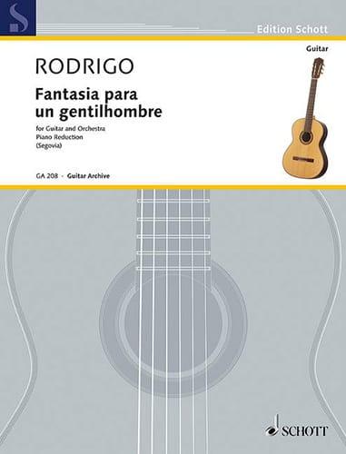 Fantasia Para un Gentilhombre - RODRIGO - Partition - laflutedepan.com