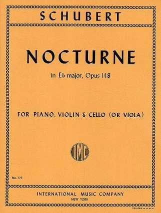 Nocturne Eb major, op. 148 D. 899 - SCHUBERT - laflutedepan.com