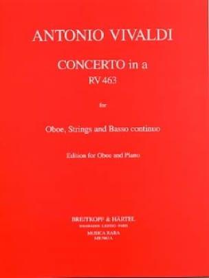 Concerto in A minor RV 463 F. 7 n° 13 -Oboe piano - laflutedepan.com