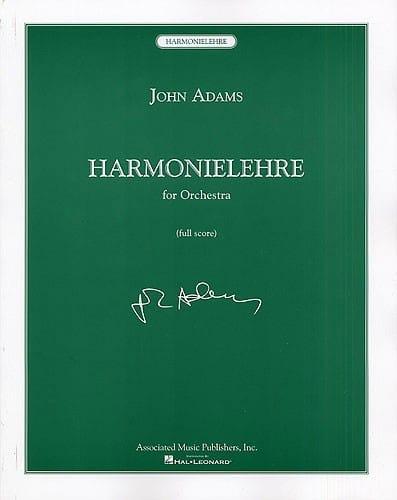 Harmonielehre - John Adams - Partition - laflutedepan.com