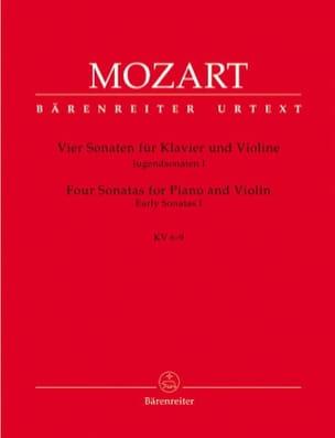 4 Sonaten, Jugendsonaten 1 MOZART Partition Violon - laflutedepan